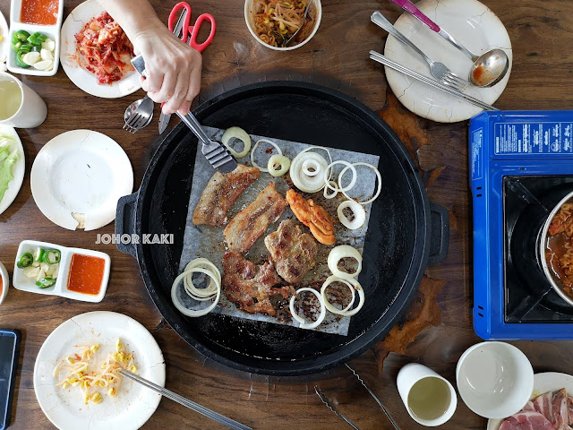 Best Cheap & Good Korean BBQ in Johor Bahru. Myeong Dong BBQ Buffet