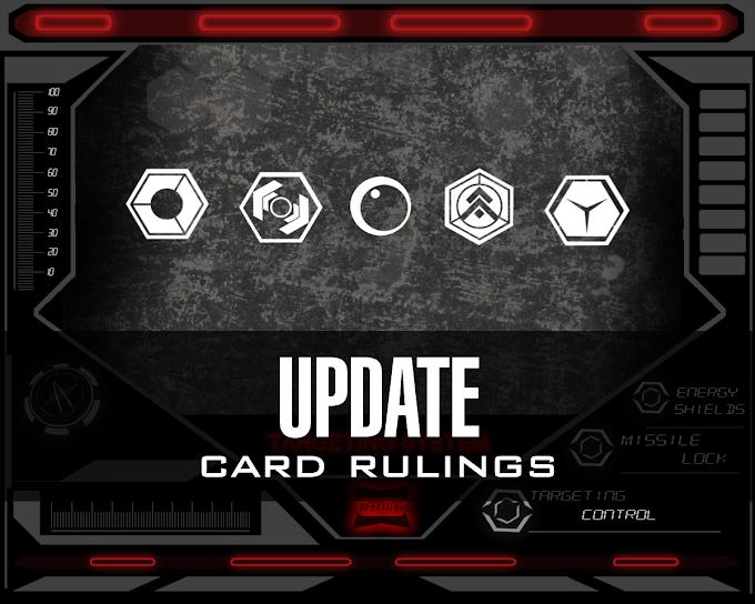 Card Rulings update