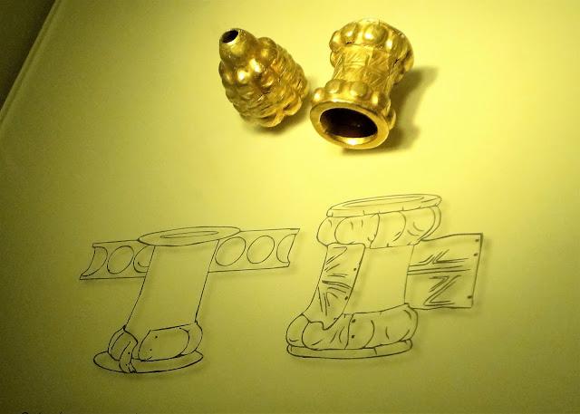 中の空いたイヤリングの組み立て方法