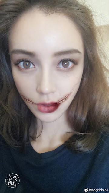 Angelababy Halloween look 2017