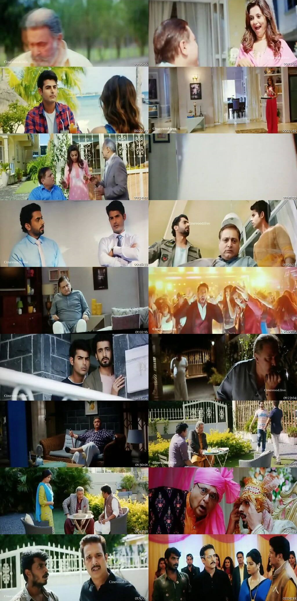 Screen Shot Of Jhootha Kahin Ka 2009 300MB HDRip 480P Full Hindi Movie Watch Online Free Download