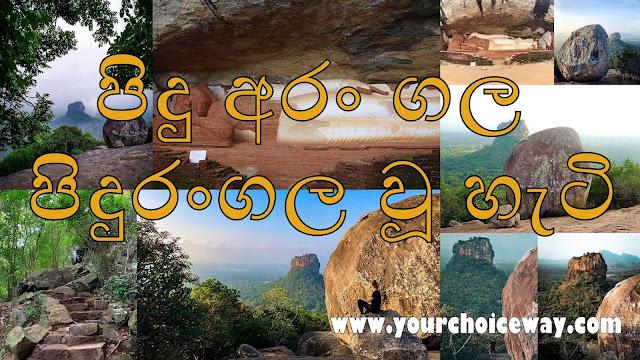 පිදු අරං ගල - පිදුරංගල වූ හැටි🙏⛰🍀 (Pidurangala Rock🎍) - Your Choice Way