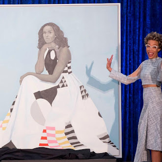 Michelle Obama's Portrait is So Popular it Had to be Moved to a Bigger Room