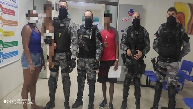 Policiais Militares realizam primeiros socorros e salvam criança em Caxias-MA.