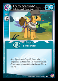 My Little Pony Cheese Sandwich, All Around Equestria Absolute Discord CCG Card