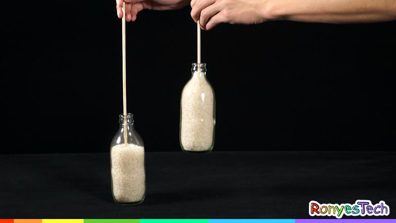 Floating Rice Bottle | STEM Activity Step 2