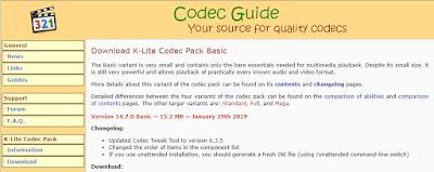K-Lite Codec Pack 14.7.0