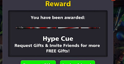 8 ball pool link Hype Cue