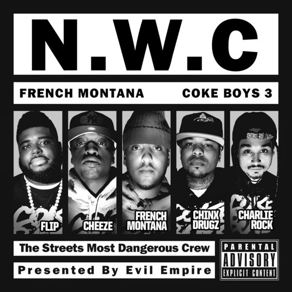 French Montana - Coke Boys 3 Cover