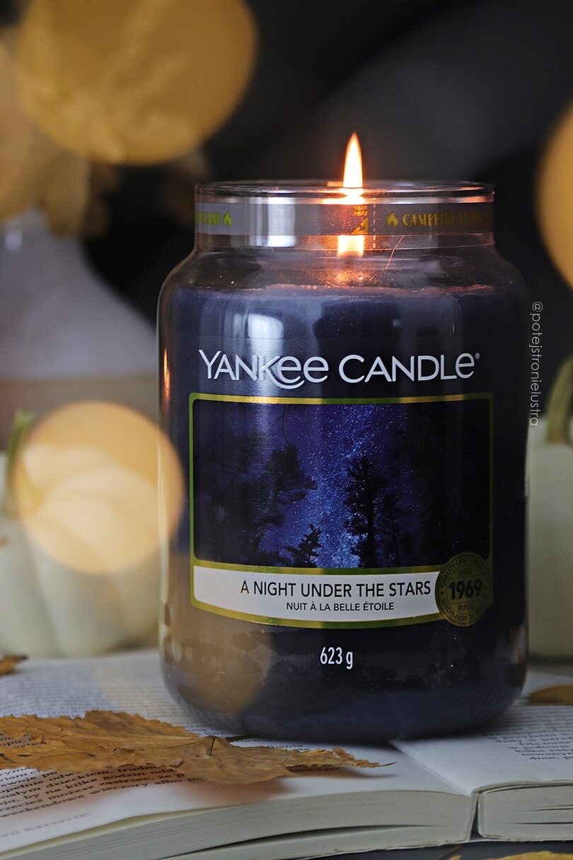 świeca zapachowa yankee candle a night under the stars