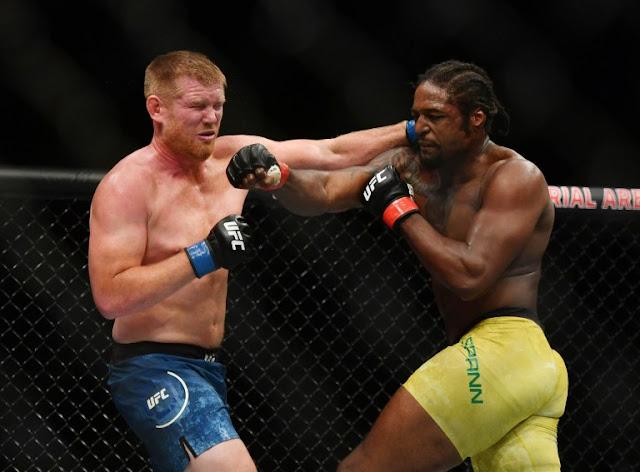 Ryan Spann blast Sam Alvey UFC 249
