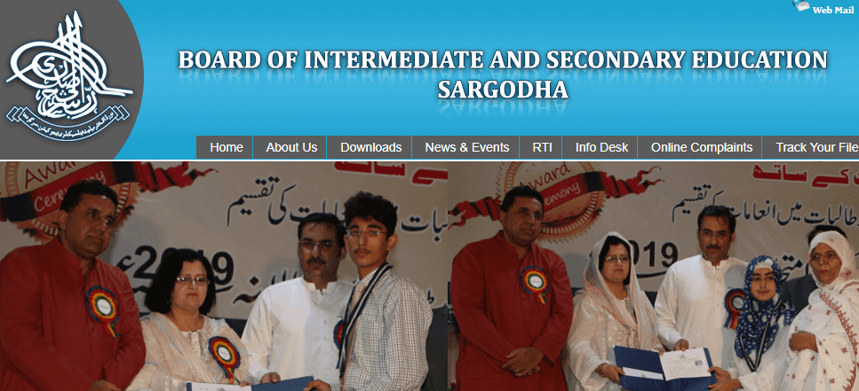 9th class result 2019 sargodha board