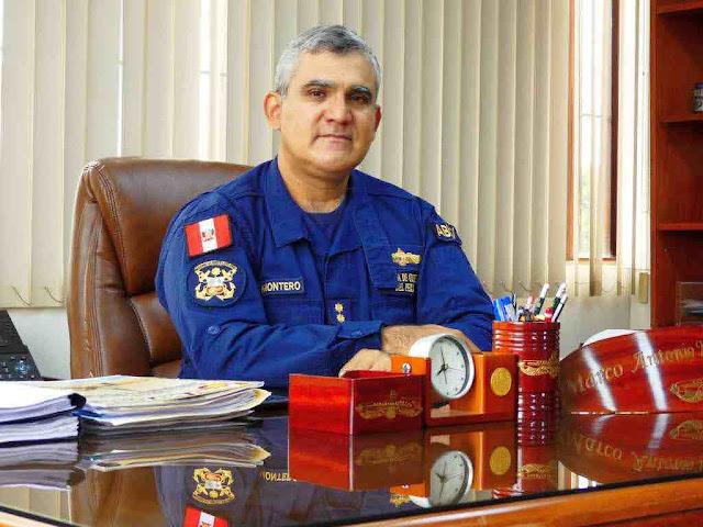 Contralmirante Marco Antonio Montero Gallegos, máximo líder de los submarinos U-209