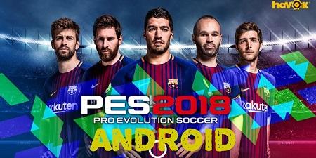 Juego Pro Evolution Soccer 2018