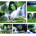 Waterfall background for Digital Photo Mixing
