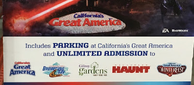 Ride Flight Deck, Gold Striker, and Drop Zone at California's Great America