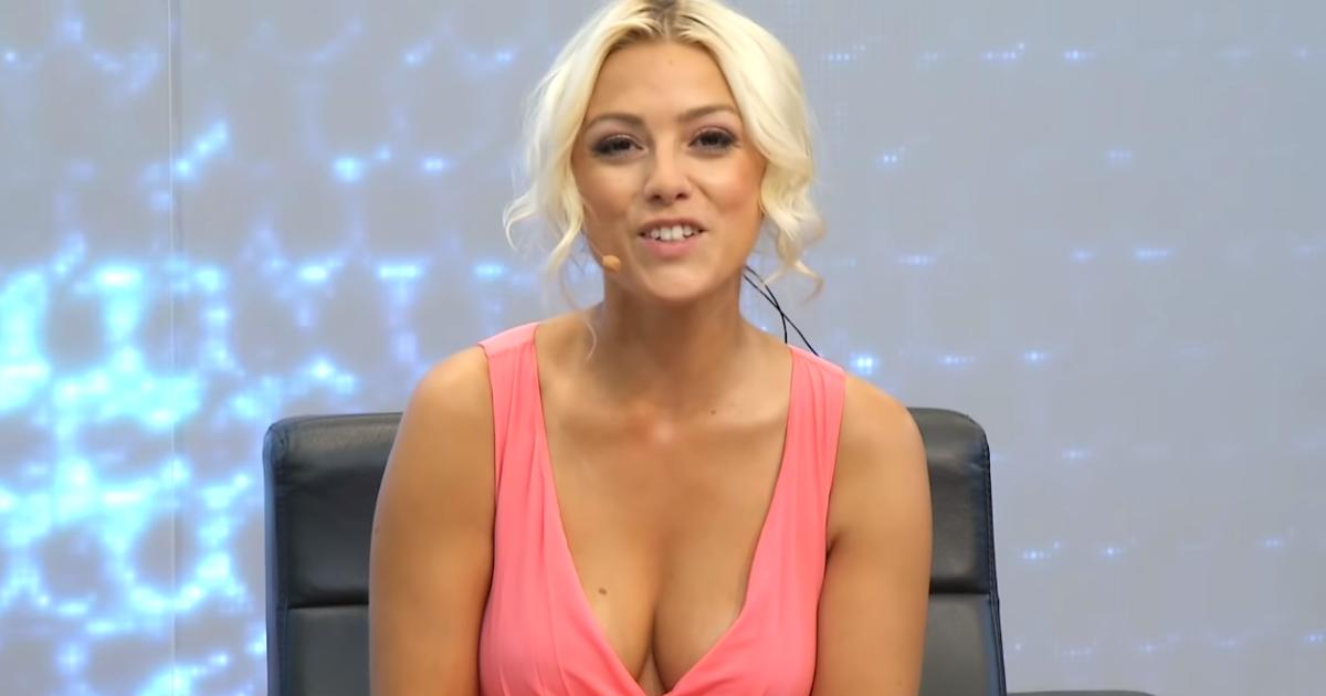Heavenly Ladies: German Pearl TV Shopping Presenter Katie