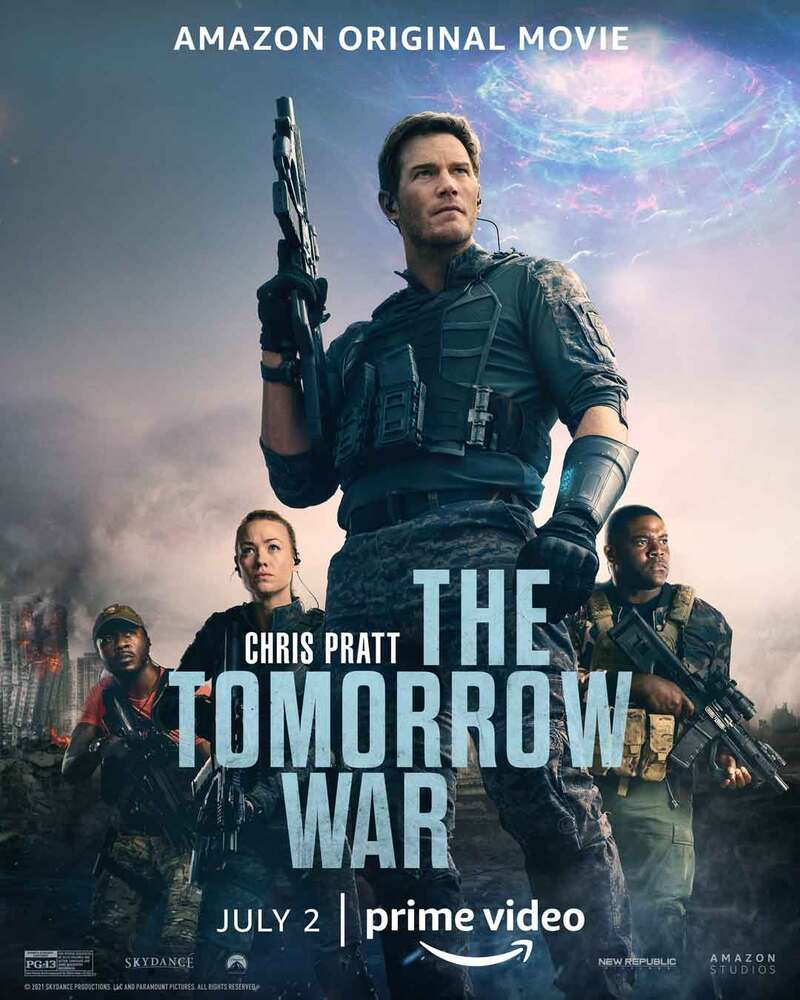 the tomorrow war poster
