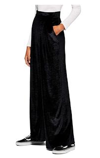 Pantalones negro de mujer