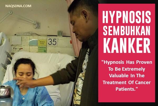 Hypnosis telah terbukti sangat bermanfaat untuk meringankan derita klien yang terkena kanker