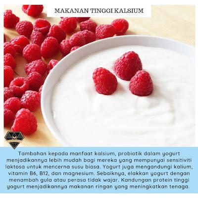 10 Makanan Tinggi Kalsium