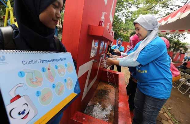 Unilever Lengkapi Sarana Taman Tongkeng Bandung