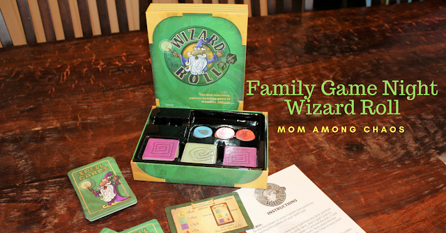 Family Game Night Wizard Roll, Family Game night, things to do, for kids, games, board games