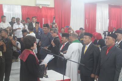 Kakankemenag Tanjungbalai Hadiri Pelantikan Anggota DPRD Terpilih Periode 2019-2024