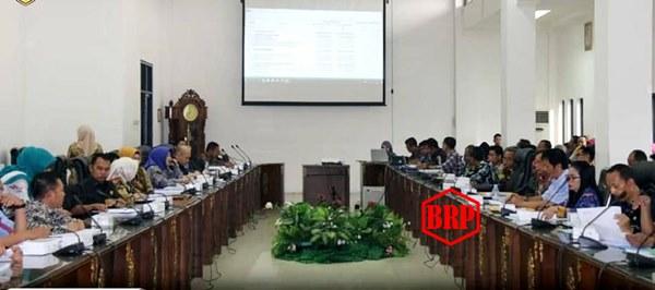 DPRD-Pemkab Batara Bahas KUA PPAS Perubahan 2019