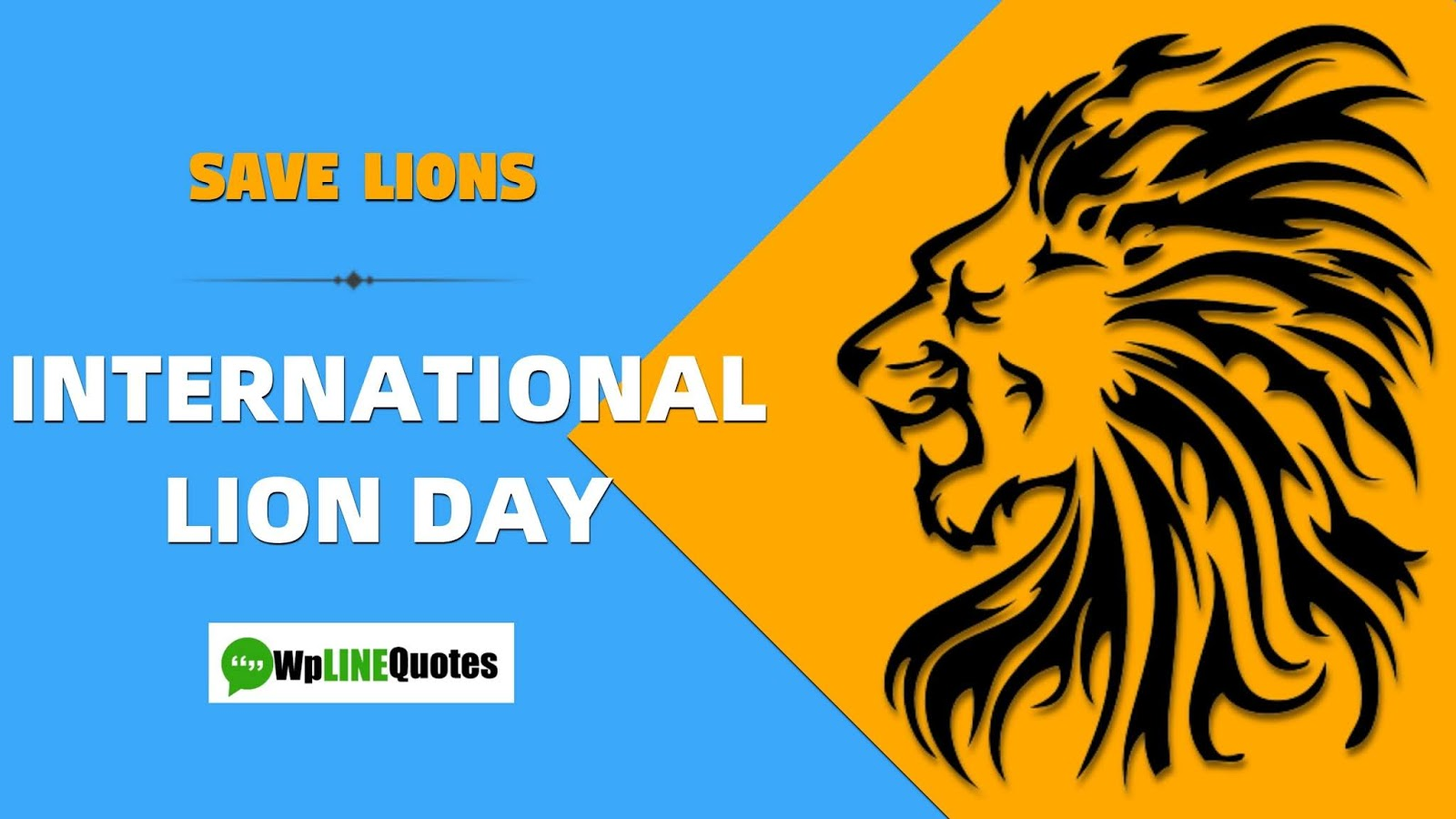 world-lion-day-images