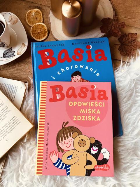 Zofia Stanecka, Marianna Oklejak, Basia i chorowanie // Basia. Opowieści Miśka Zdziśka