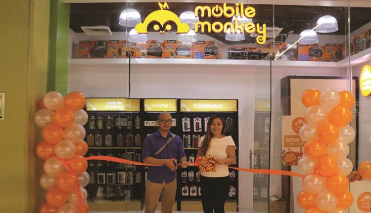 First Mobile Monkey Store Now Open in Robinsons Galleria