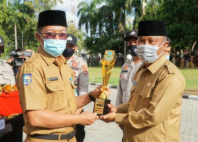 Desa Kembang Kuning juara 1 Lomba Kampung Sehat tingkat kabupaten