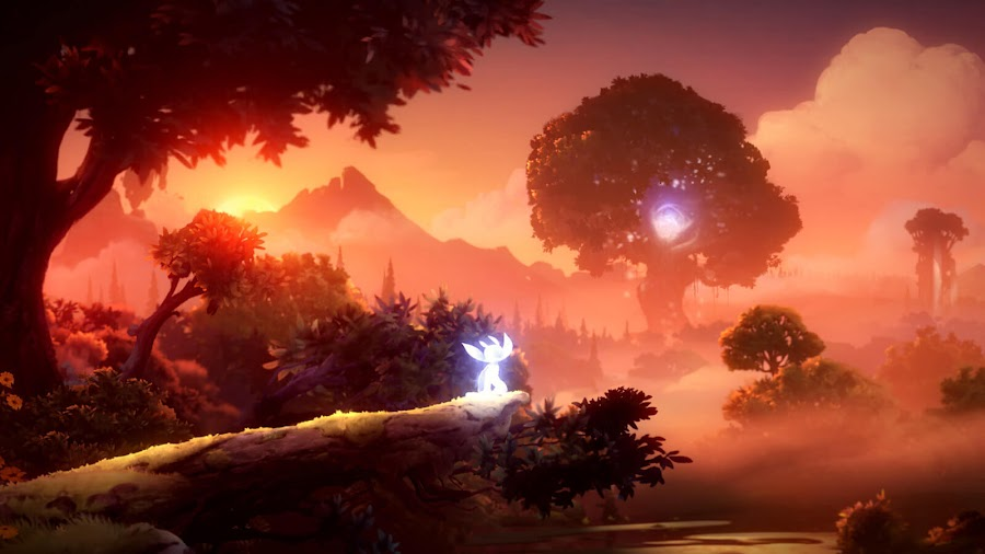 ori and the will of the wisps beautiful hand drawn visual artwork pc steam xb1 game pass moon studios xbox game studios