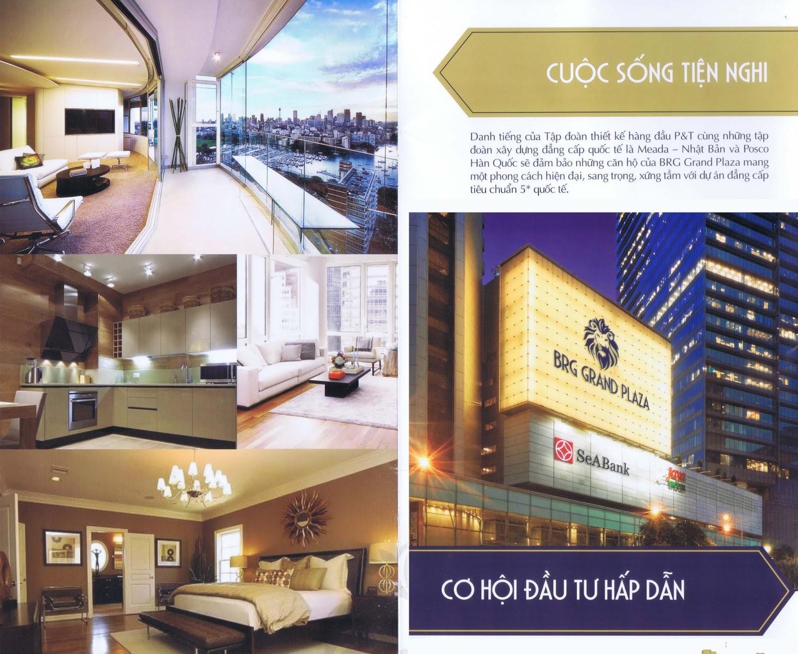 Tiện ích BRG Grand Plaza 16 Láng Hạ