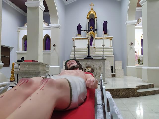 Paróquia de São Sebastião celebra Paixão de Cristo virtualmente em Caraúbas, RN