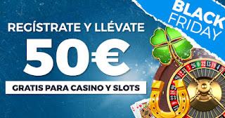 Paston Black Friday: 50€ Casino gratis hasta 2 diciembre 2019