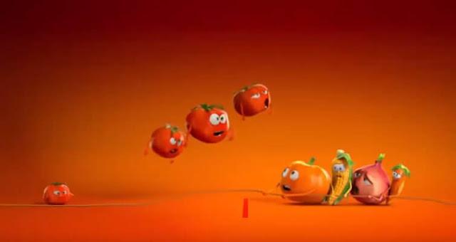 Domates Reklamı: Doma Doma Domatesler - Kurgu Gücü