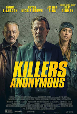 Poster Killers Anonymous 2019 Dual Audio HD 720p