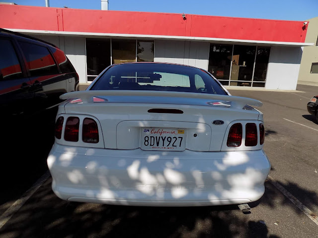 Complete paint job on 1998 Ford Mustang at Almost Everything Auto Body.