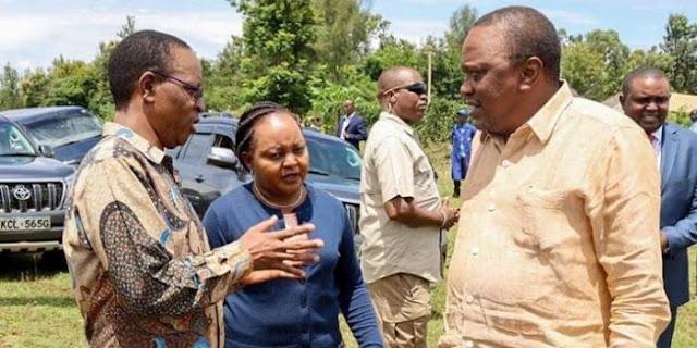 Governor Anne Waiguru fired driver photos and Videos