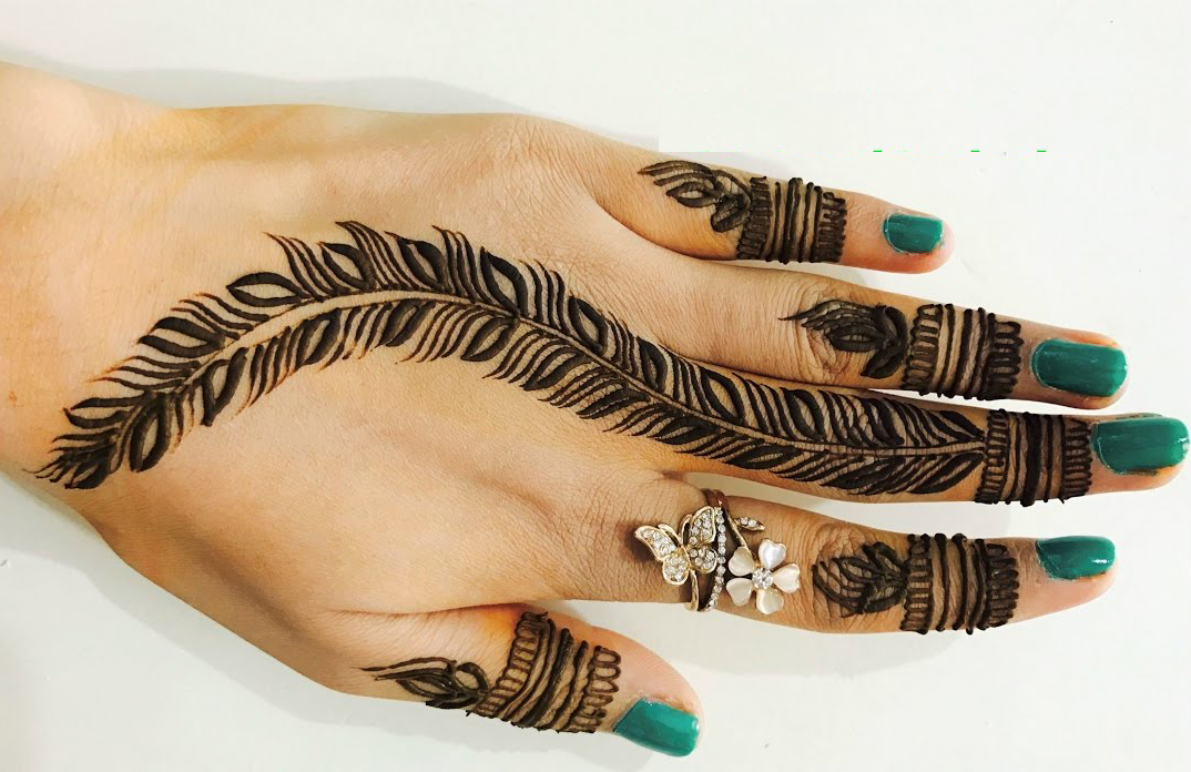20 New Mehndi designs 2019 simple , Fancy Fashion Points