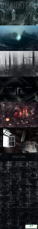 Haunted Photo Overlays [Stock Image] [Objects & Elements]