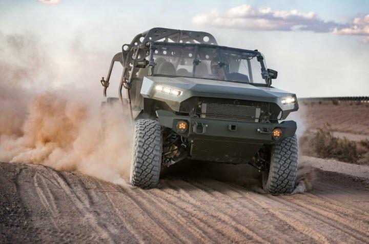 GM giành hợp đồng thiết kế xe quân sự trị giá 214 triệu USD