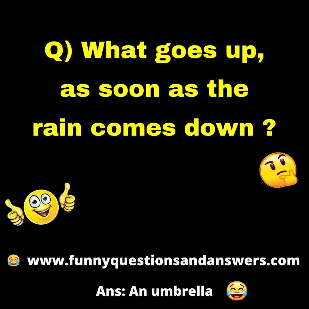 General knowledge funny questions and answers