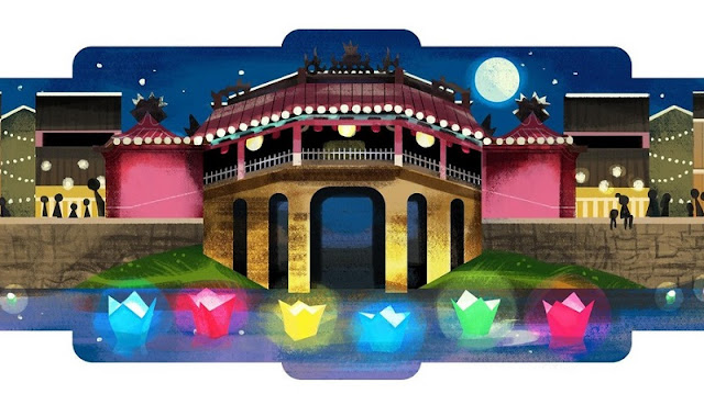 HOI AN: Google celebrates Hoi An Lantern Full Moon Festival