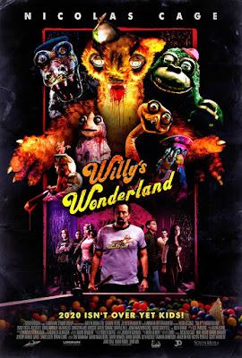 Willy's Wonderland, Mais Um Filme de Terror Para Nicolas Cage....Desta Vez Com Bonecos Sanguinários