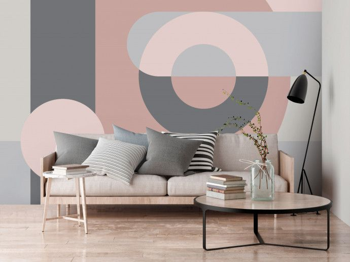 Awesome Geometric Wall Painting Design Ideas 2020