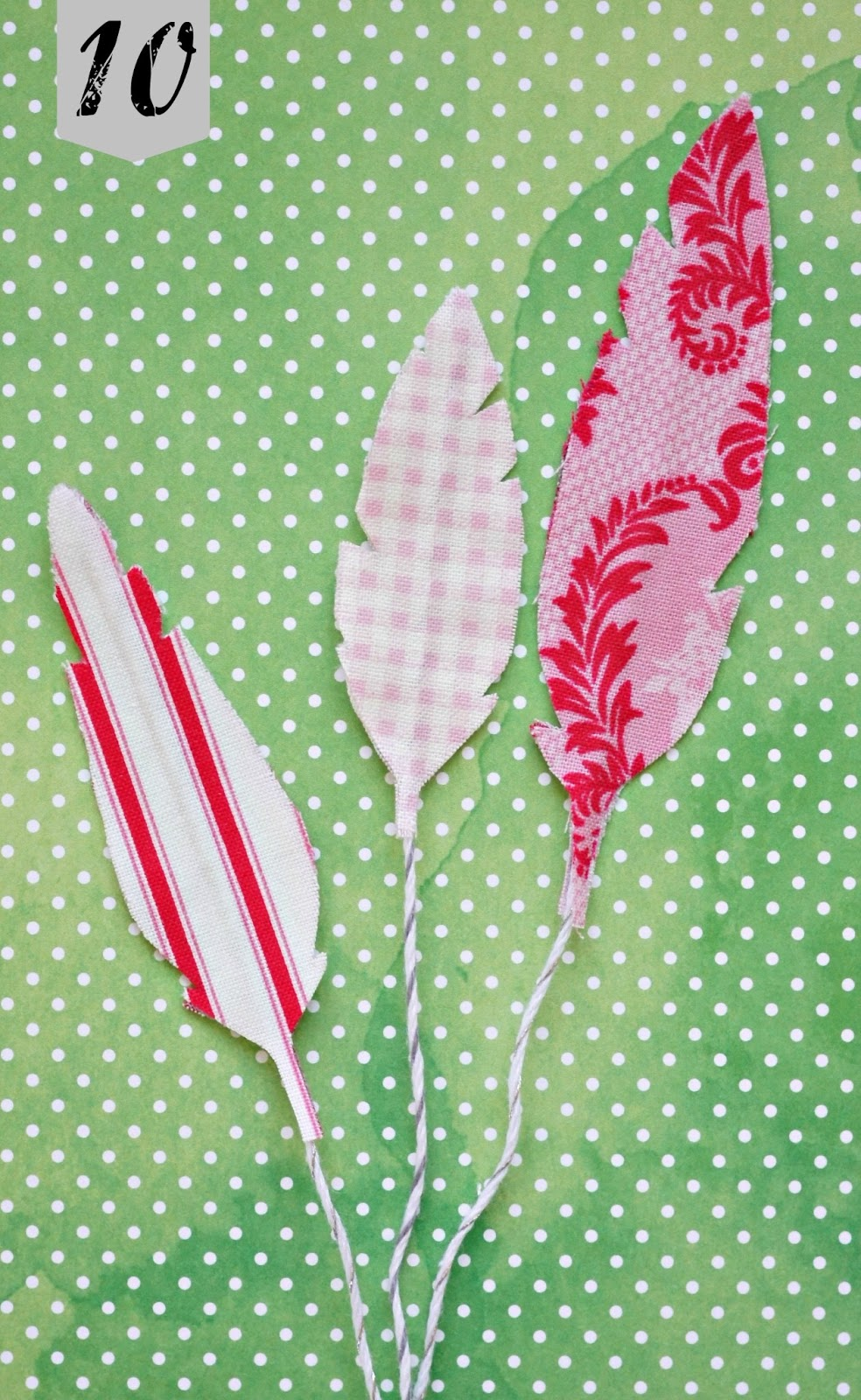 Anna Norman Diy Fabric Feathers