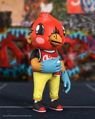 Bird City Saint Chicago Edition Vinyl Figure by Sentrock x Mighty Jaxx